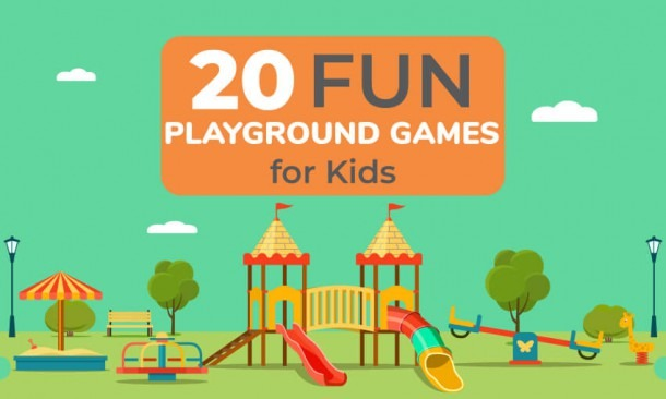 20 Fun Playgrounds Games For Kids
