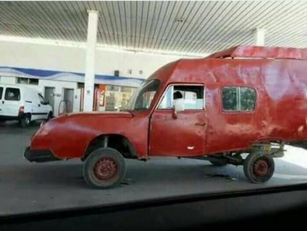 I Knew That The Car We Used To Draw In Kindergarten Does Exist