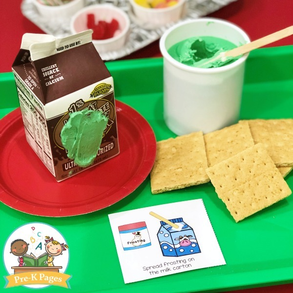 How To Make Milk Carton Gingerbread Houses In Preschool