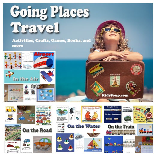Going Places And Travel Activities And Games