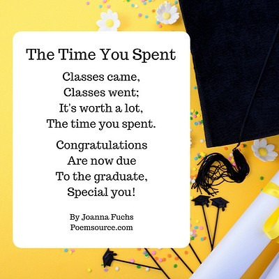 Graduation Poems  They'll Always Remember You Cared