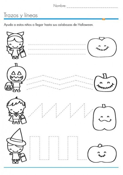 Halloween Worksheets For Kids