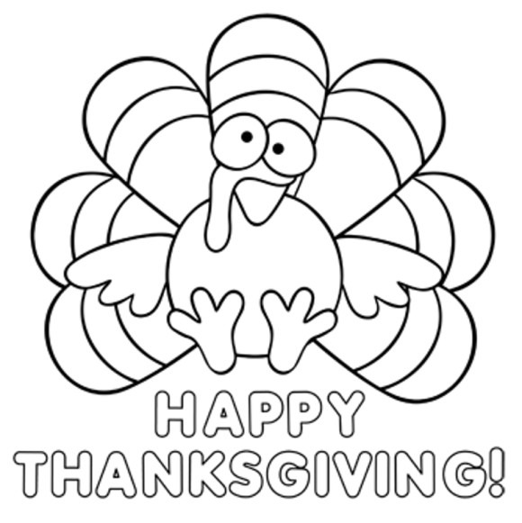 21+ Happy Thanksgiving Coloring Pages Free For Adults & Kids