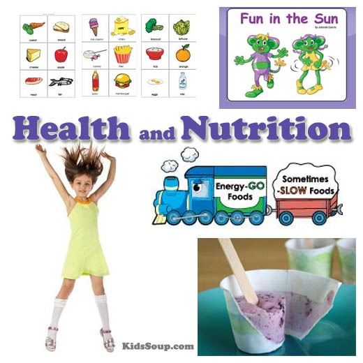 Fun In The Sun Health And Nutrition Preschool Activities