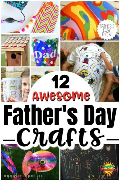 12 Homemade Father's Day Gifts That Kids Can Make