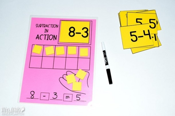 How To Teach Addition And Subtraction In Kindergarten