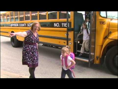 Kindergarten School Bus Video