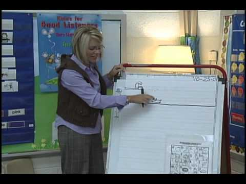 Common Core Writing Kindergarten Lesson