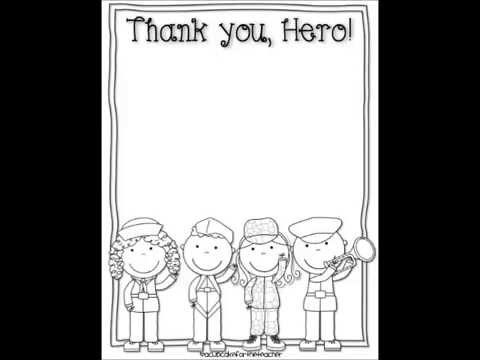 Veterans Day Thank You Cards Printables Download, Crafts