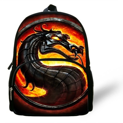 New Style Character Print Backpack For Kids Preschool Bag For Baby