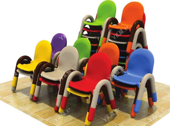 Bright Color Kindergarten Children Chair,classroom Furniture