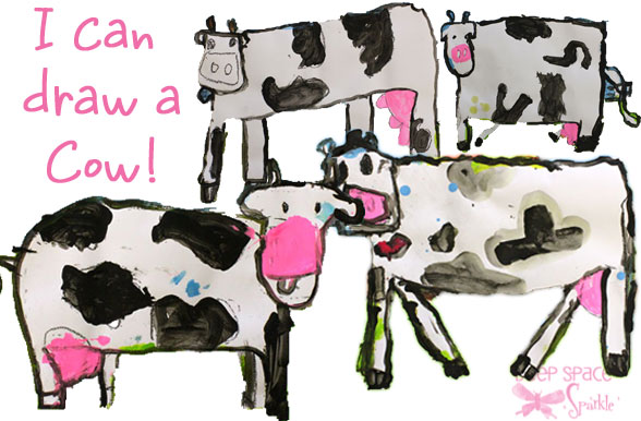 I Can Draw A Cow!