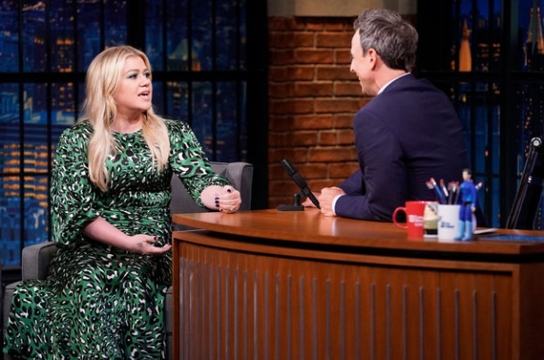 Kelly Clarkson Show'  Singer Talks About New Gig On 'seth Meyers