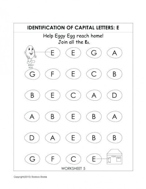 Kindergarten Alphabet Worksheets Kindergarten Alphabet Worksheets