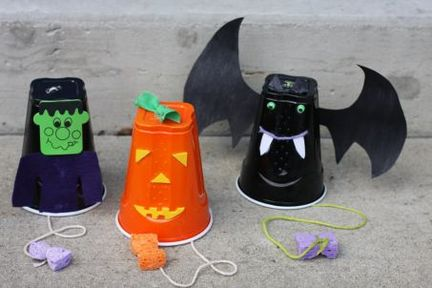 Kindergarten Halloween Crafts