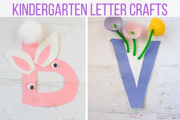 Kindergarten Letter Crafts (2)
