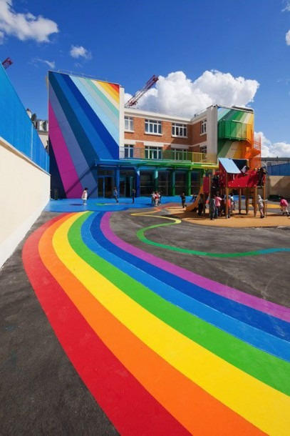 10 Awesomely Inspiring Kindergarten Buildings
