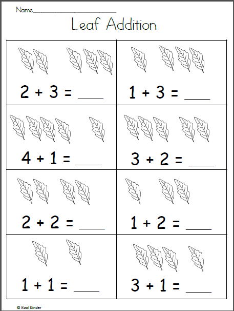 Easy Leaf Addition To 5