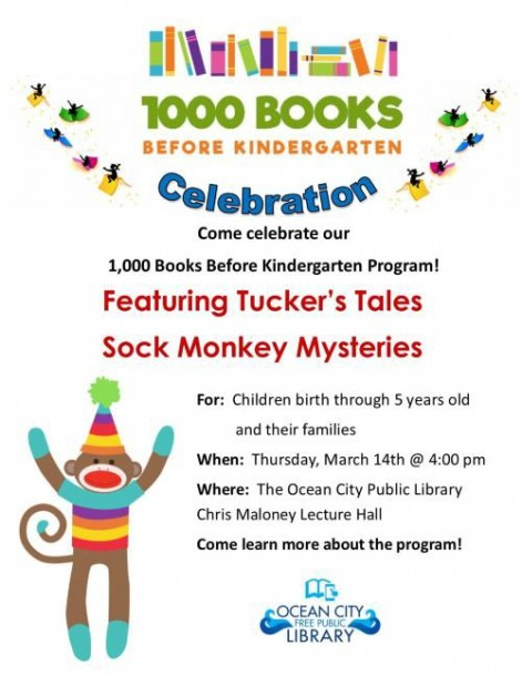 1,000 Books Before Kindergarten Celebration!