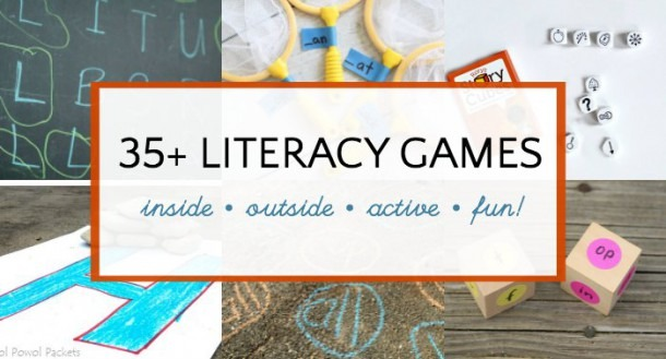 Literacy Games For Kids  Indoor And Outdoor Learning Fun!