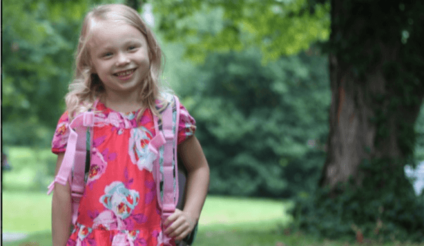 To My Daughter On Her First Day Of Kindergarten