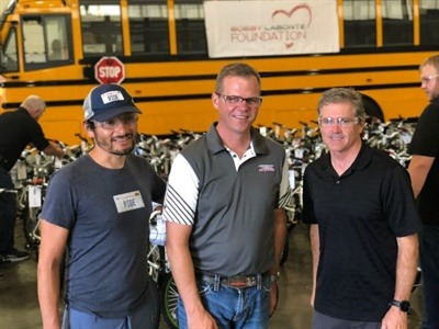 Thomas Built Buses Sponsors Charity Bike Ride, Helps Foundation