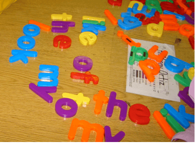 Top Ten Ways To Use Magnetic Letters – Hands