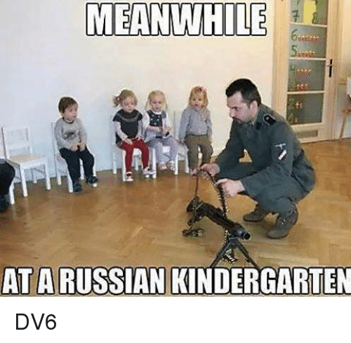 Meanwhile At A Russian Kindergarten Dv6
