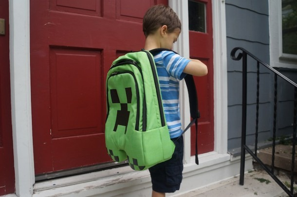 Review  Minecraft Creeper Backpack