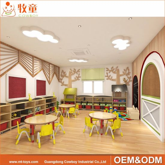 China Montessori Kindergarten Nursery Preschool Classroom