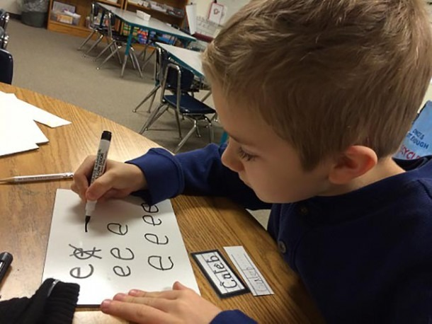 10 Kindergarten Handwriting Tips For January