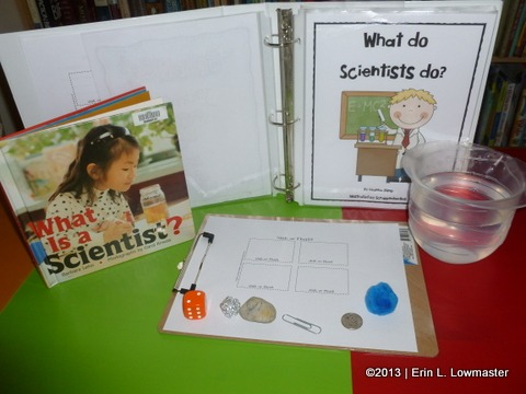 Kindergarten Science  What Is A Scientist  Lesson & Experiment