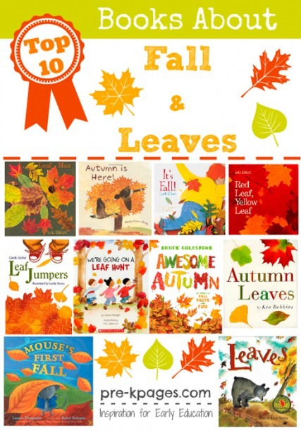 Best Picture Books About Fall For Preschool