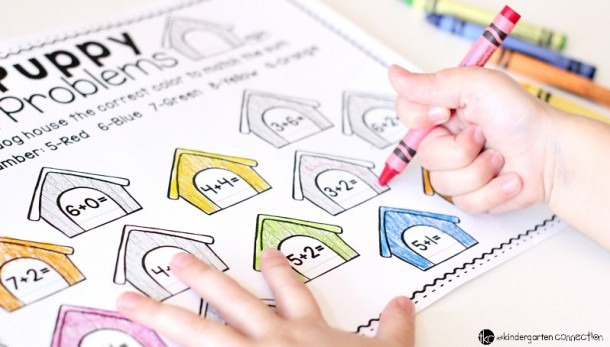 Free Color By Number Math Printables