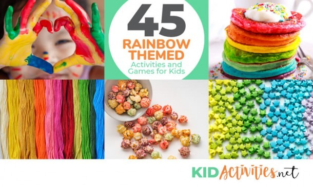 45 Rainbow Themed Activities And Games For Kids