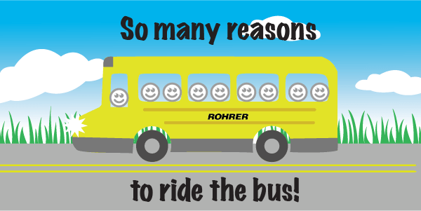 5 Reasons Why Students Should Ride The School Bus