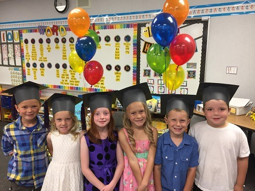 Kindergarten Graduation And End