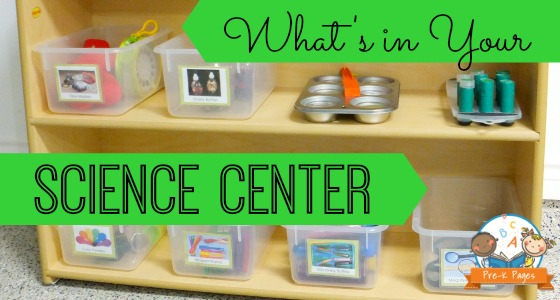 What's In Your Science Center
