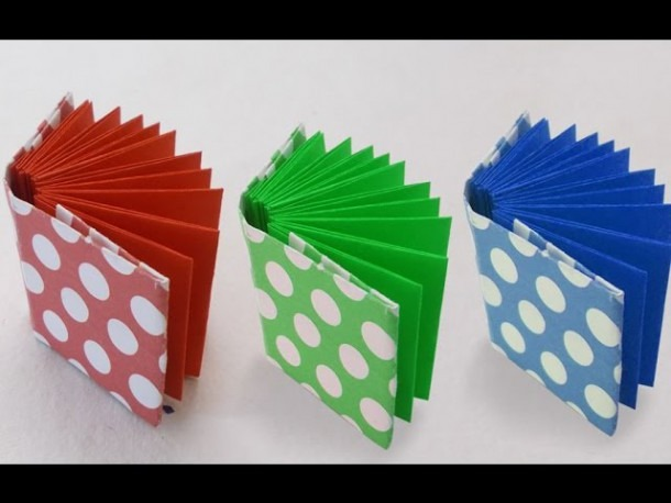Diy Project Ideas   How To Make A Mini Origami Book