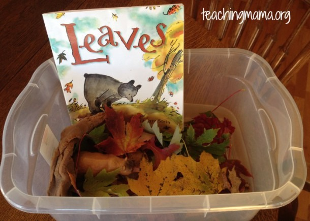 Leaves Book Activities