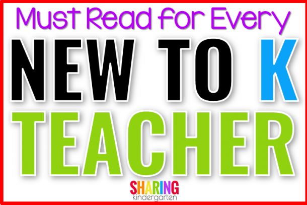 Must Reads For Every New To K Teacher