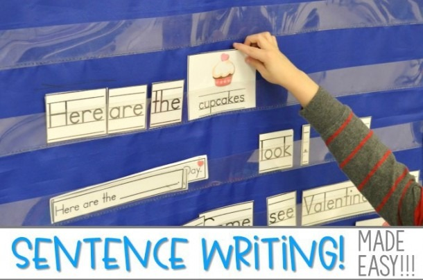 Kindergarten Sentence Writing Activities And Ideas
