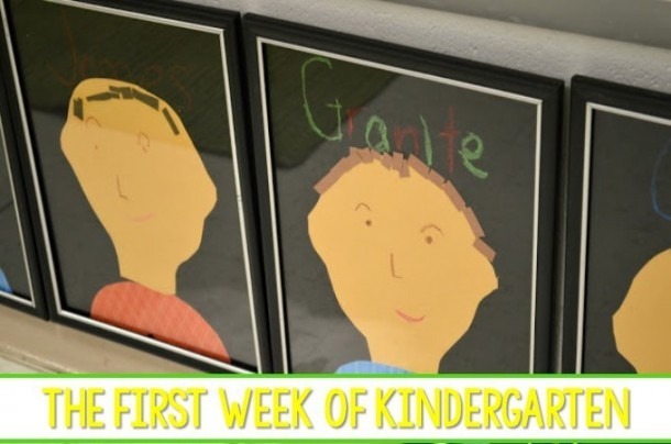 Kindergarten First Week Of School Activities