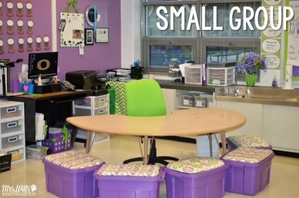 Kindergarten Guided Reading Small Groups