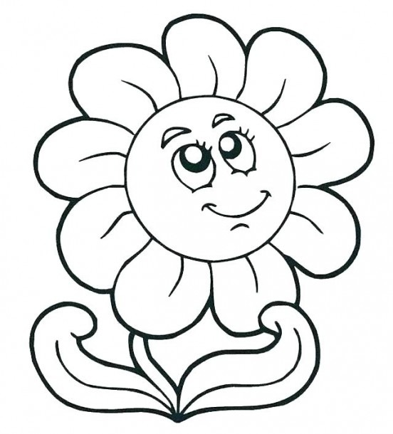 Spring Coloring Pages Preschool – Danquahinstitute Org