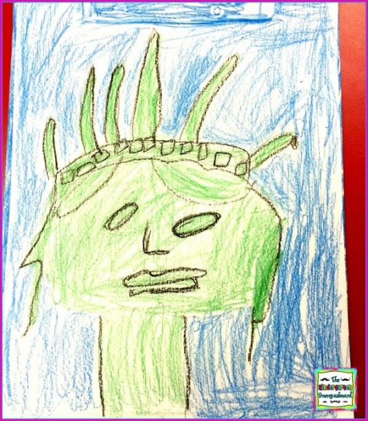 Statue Of Liberty Directed Drawing