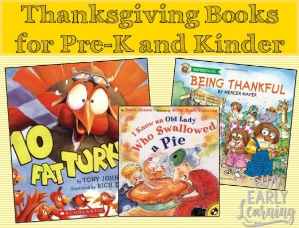 Favorite Thanksgiving Books For Preschool And Kindergarten
