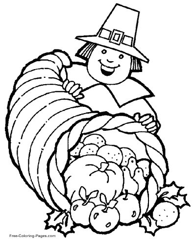Thanksgiving Coloring Pages, Sheets And Pictures