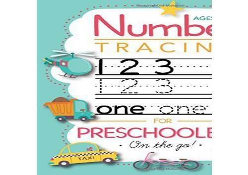 The Best Book Of The Month Number Tracing Book For Preschoolers