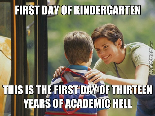 Kindergarten Memes  Best Collection Of Funny Kindergarten Pictures